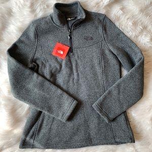 NORTH FACE Pullover Half-Zip Fleece Sweater